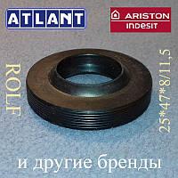 Сальник 25*47*8/11,5 ROLF для пральної машини ATLANT, Індезіт і Арістон