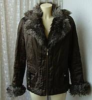 Куртка женская теплая демисезонная бренд Lakeland р.50, фото 1