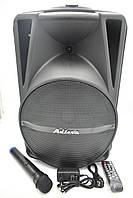 """Акустична система акумуляторна Bluetooth колонка 12"""" радіо мікрофон USB FM Ailiang UF-AR-12QK - DT"""