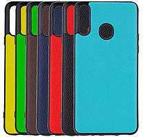 Кожаная накладка Epic Vivi Series для Samsung Galaxy A20s SM-A207F