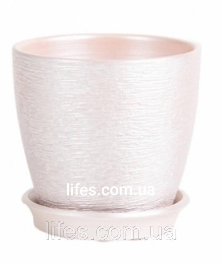 Вазон керамический серебро ВК 13