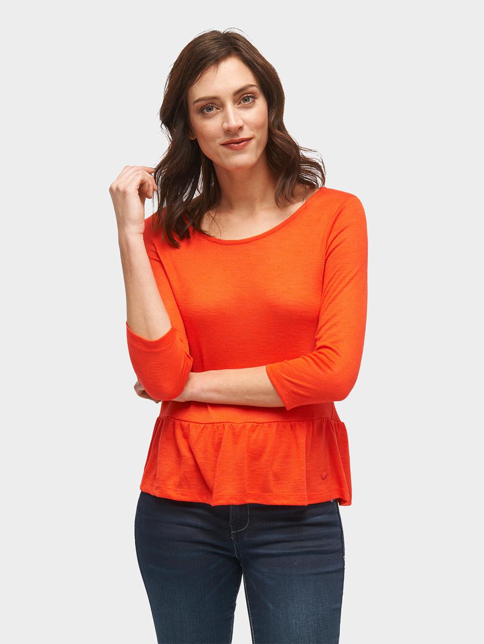 Блуза Tom Tailor 10555420070 M Оранжевый