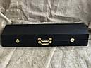 """VIP-Набір шампурів ручної роботи """"Гранд 3"""" ніж +6 чарок, в подарунковому кейсі, фото 7"""