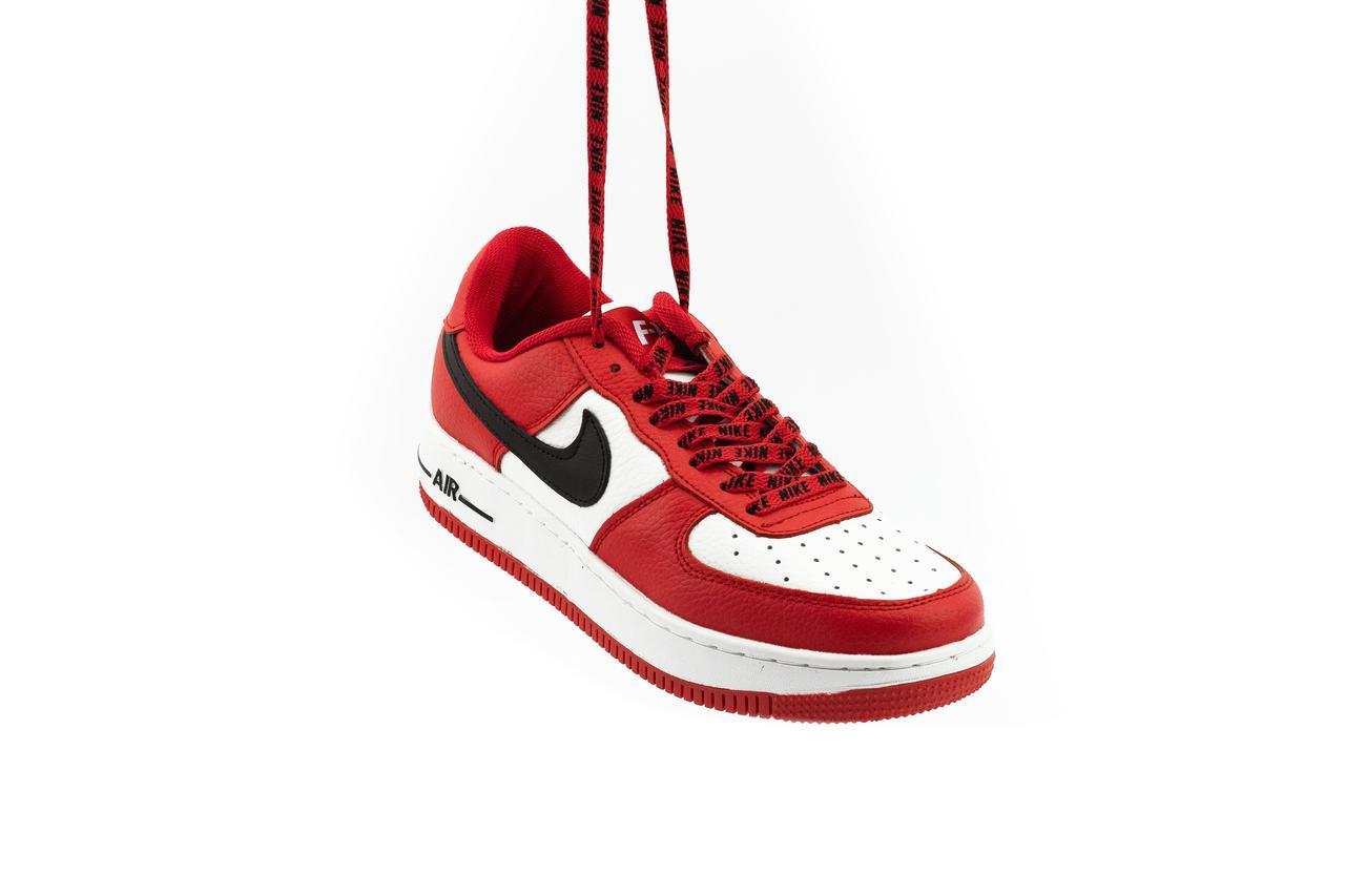 Кеды A 119 -8 (Nike AirForce) (весна/осень, мужские, искусственная кожа, красный)