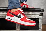 Кеды A 119 -8 (Nike AirForce) (весна/осень, мужские, искусственная кожа, красный), фото 2