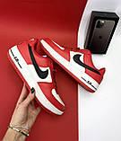 Кеды A 119 -8 (Nike AirForce) (весна/осень, мужские, искусственная кожа, красный), фото 9
