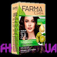 Крем-фарба для волосся Farma Color Farmasi 3.0 Темно-коричневий