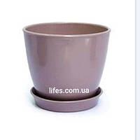 Вазон керамический пудровый ВК 13