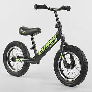 """Велобег Corso 36906 стальная рама, колесо 12"""" надувные колёса"""