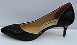 Туфли кожаные женские на шпильке от производителя модель ФТ34, фото 3