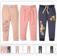 Детские трикотажные спортивные штаны 98-116 рост lupilu девочка, фото 1
