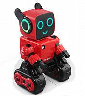 Интерактивный робот с копилкой разговаривает танцует пульт 2.4G Cady Wile R4 красный