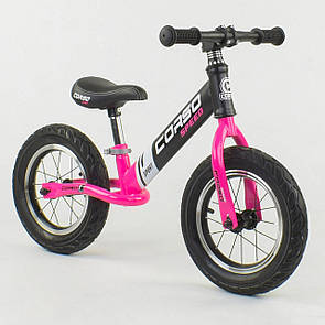 """Велобіг від Corso 88621 сталева рама, колесо 12"""" надувні колеса"""