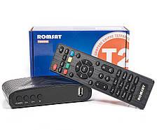 Цифровий ефірний Тюнер T2 ресівер з функцією відеозапису HDMI USB IPTV Youtube Romsat T8005HD
