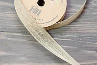 Декоративная лента -мешковина 2,5 см, фото 1