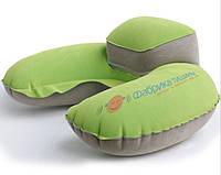 Подушка для путешествий надувная с подголовником с принтом клиента