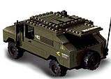 Конструктор SLUBAN M38-B9900 армія, військова машина, фігурки, 191 дет., кор., 28,5-28,5-5,5 см, фото 3