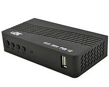 Цифровий ефірний T2 тюнер WiFi USB YouTube ТБ ресивер U2C чорний
