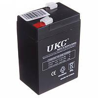Аккумулятор для торговых весов фонарей светильников 6V 4A UKC RB-640