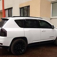 Ветровики Jeep Compass 2013-  дефлекторы окон