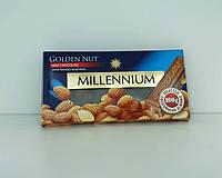 Шоколад Millennium молочный с миндалем 100 г