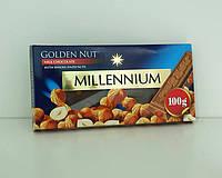 Шоколад Millennium молочный с цельными лесными орехами 100 г