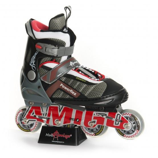 Ролики Amigo sport POWERFLEX 38-41 красные