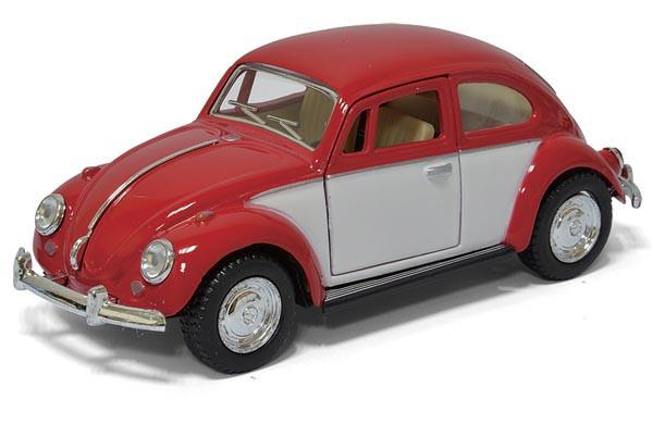 Машинка мет. KINSMART KT5373W (1:32) VW Classical Beetle