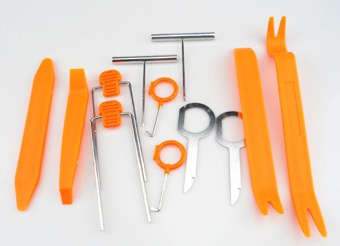 Набор инструментов для разборки карт салона торпеды автомобиля авто
