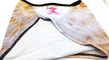 Маска 3D бафф балаклава +3Д рисунок зверомаска +кот лыжная подшлемник, фото 3