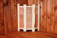 Ограждение для светильников угловое с гималайской солью, фото 1