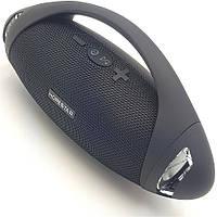 Бездротова акумуляторна колонка Bluetooth акустика FM MP3 AUX USB Hopestar H37 чорна