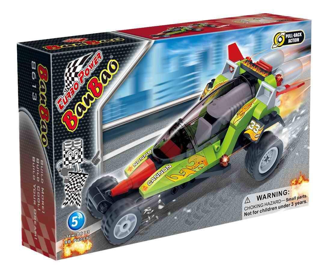 Конструктор BANBAO 8613 гоночне авто, інерц., 98 дет., кор., 23-15-5 см