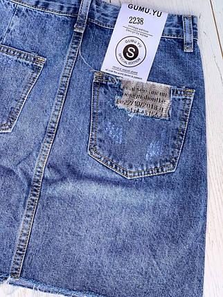 Модная джинсовая юбка, фото 2