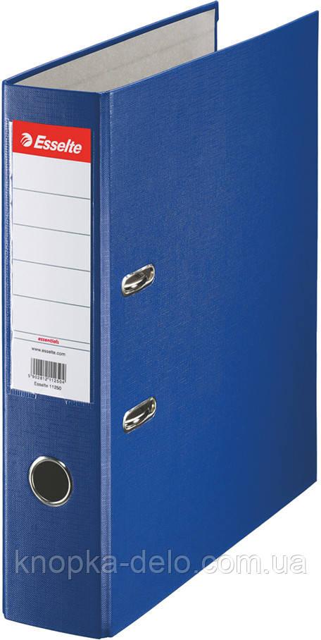 Папка-регистратор Esselte ECO А4 75мм синяя, арт. 11255