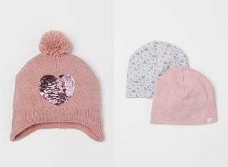 Демисезонные и зимние шапочки