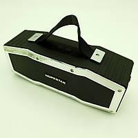 Бездротова акумуляторна колонка Bluetooth акустика FM MP3 AUX USB Hopestar A9 чорний