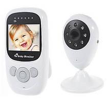 Видеоняня система наблюдения с ночным видением и голосовой активацией радионяня Baby Monitor ART-880