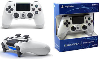 Геймпад бездротовий PlayStation Dualshock v2 Glacier White