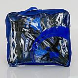 Ролики BEST ROLLERS 0817 40-43 синий, фото 6