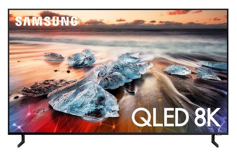 """Телевiзор 75"""" Samsung QE75Q900RBUXUA QLED 8K Smart"""