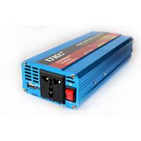 Інвертор авто перетворювач напруги з чистою синусоїдою 12v 220v AC/DC 600W UKC