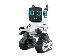 Интерактивный робот с копилкой разговаривает танцует пульт 2.4G Cady Wile R4 белый