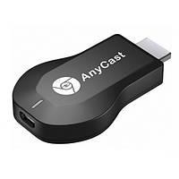 Бездротовий HDMI WiFi адаптер приймач Mirascreen картинка з телефону на ТБ ресивер для проекторів AnyCast M9 PLUS