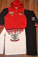 Костюмы тройки для мальчиков на байке,размеры 116-146,фирма GOLOXY,Венгия, фото 1
