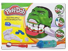 Игровой набор пластилин для лепки стоматолог дантист Мистер зубастик ХАЛК Play-Doh