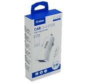 Автомобильная зарядка АЗУ USB inkax CС-02 2usb кабель micro-usb в комплекте