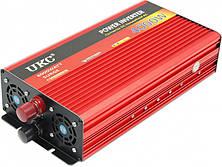 Інвертор авто перетворювач напруги з функцією плавного пуску 24V 220V AR 4000 Вт UKC
