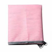 Пляжний килимок Антипесок підстилка покривало для моря 200х200 см Sand free Mat рожевий