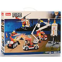 "Конструктор SLUBAN M38-B0811 ""Fire"": пожежна бригада, 5 шт., фігурки, 490 дет."